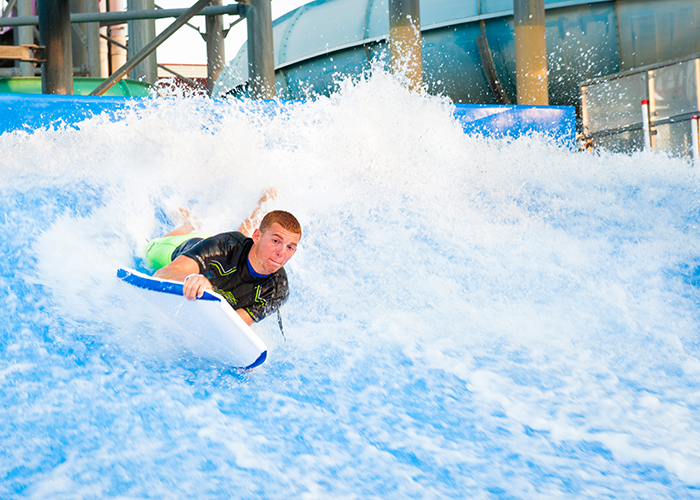 Flow House | Splash Zone Water Park | Jersey Shore Water Park | Wildwood, NJ